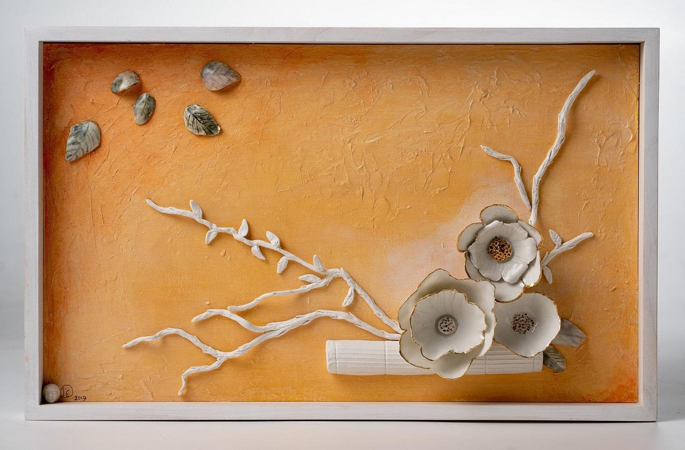 Ikebana - 3D Sculpted Picture